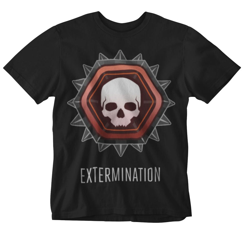 Halo Extermination Mens Black TEE