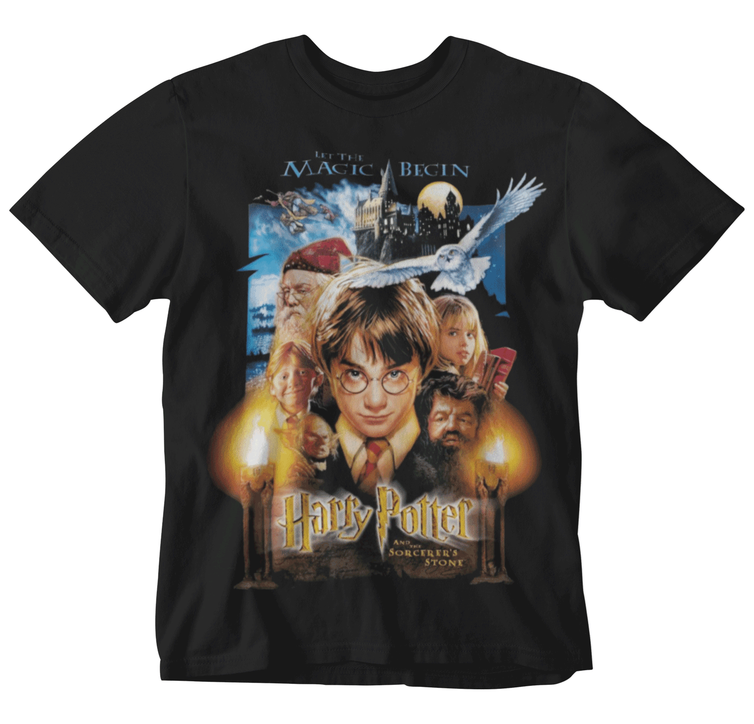 Harry Potter - Philosopher's Stone Black Tee