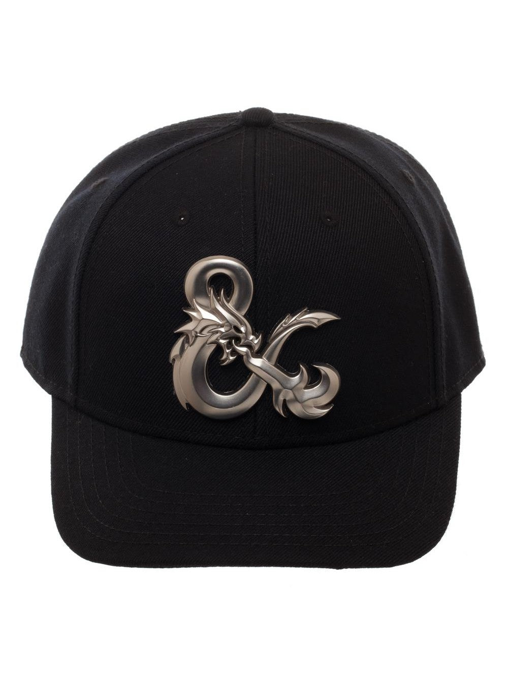 92d49dedc Dungeons and Dragons Ampersand Black Curved Snapback Hat