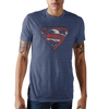 Superman Navy T-Shirt - Dood Gear
