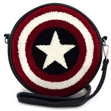 Captain American Shield Crossbody Bag