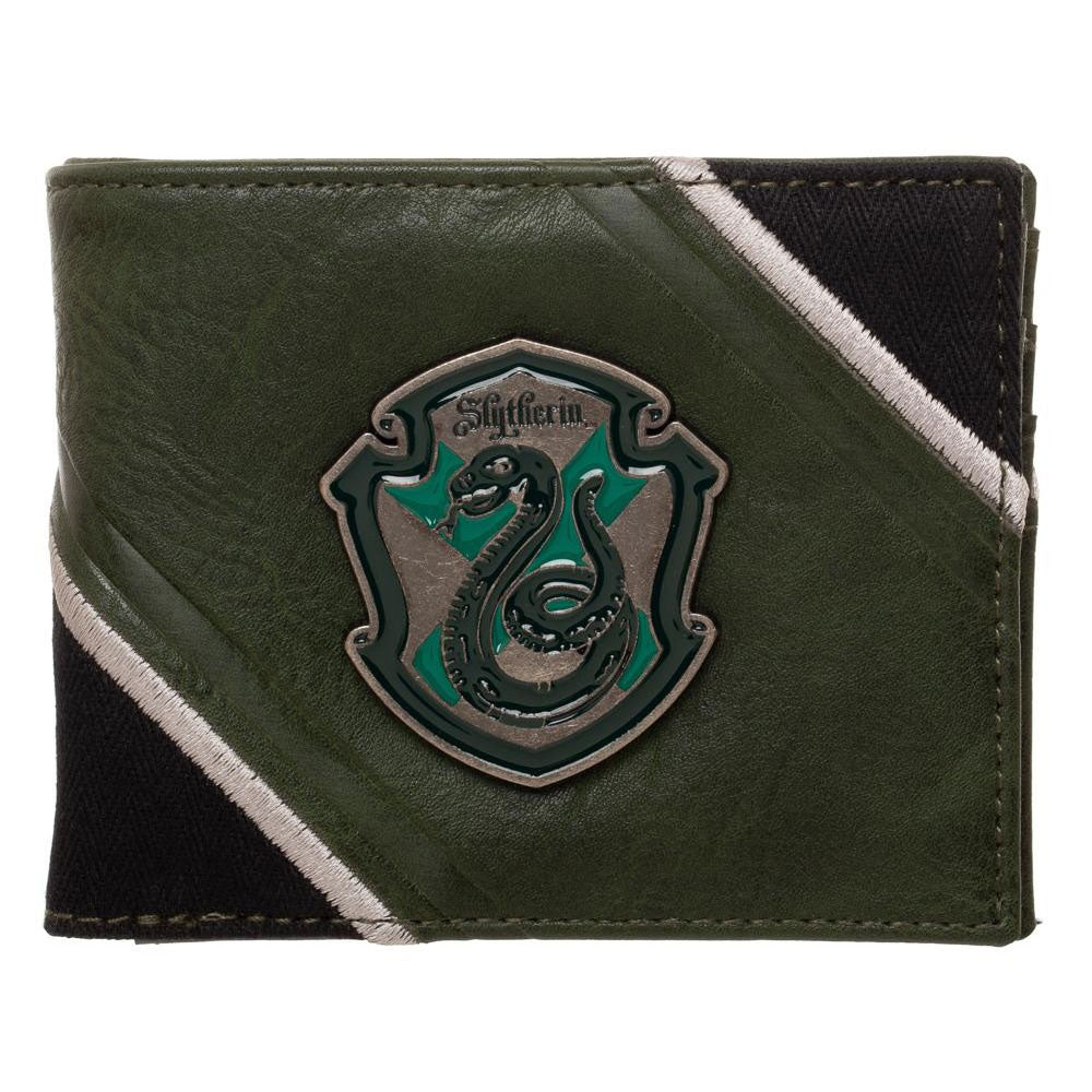 Harry Potter - Slytherin House Pride Crest Bifold Wallet