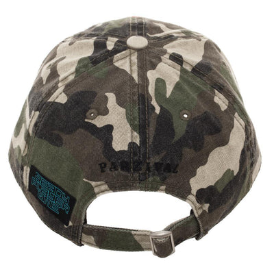 Camouflage Gunter Life Dad Hat, Single Patch Design on Adjustable Cap, Gamer Dad Gift Hunting Easter Eggs - Dood Gear