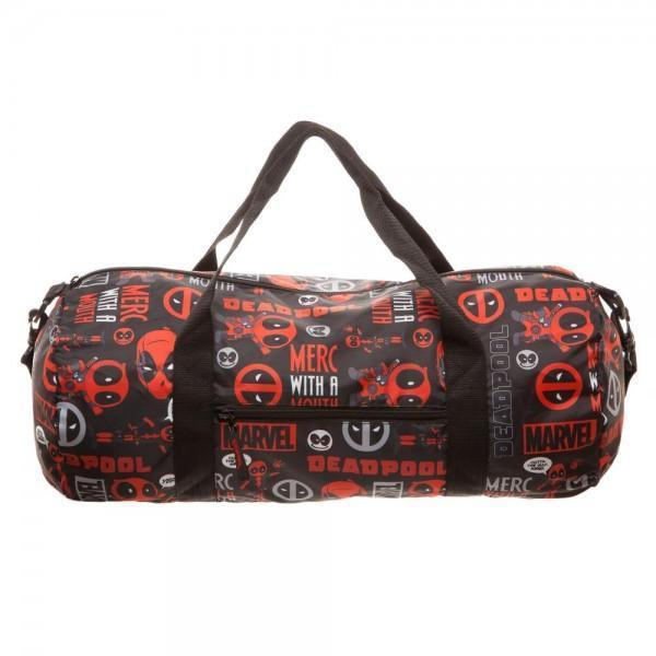 Marvel Deadpool Packable Duffle Bag **NEW**