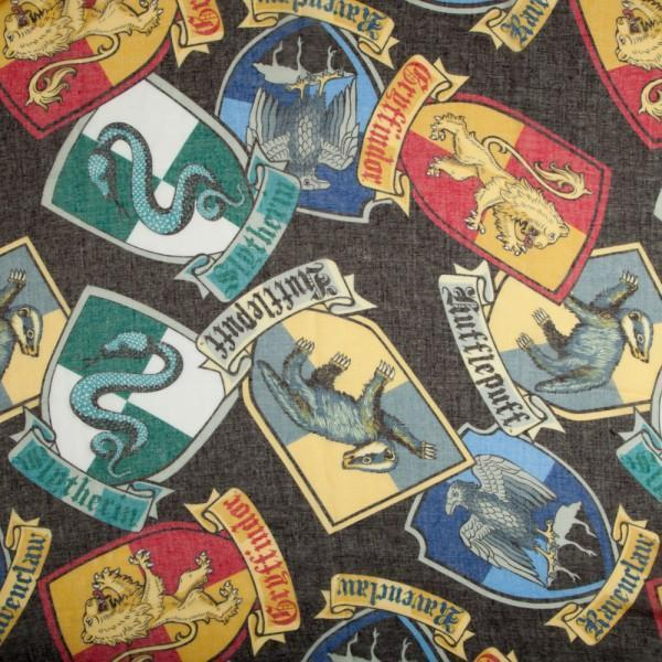 Harry Potter Crests Infinity Viscose Scarf - Dood Gear