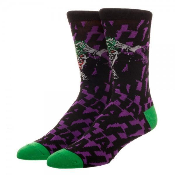 Batman Joker HAHA Crew Socks
