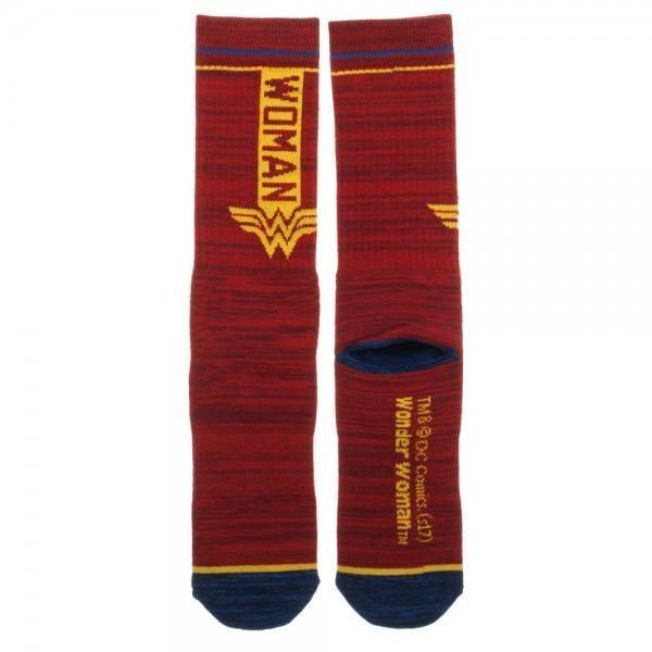 DC Comics Wonder Woman Crew Sock