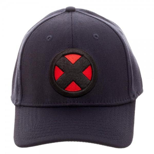 X-Men Logo Navy Flex Cap - Dood Gear