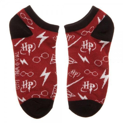 Harry Potter Ankle Socks 3 Pack - Dood Gear