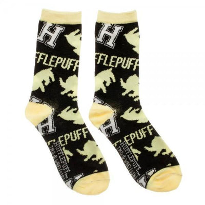 Harry Potter Hufflepuff Juniors Crew Socks - Dood Gear