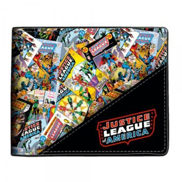 Justice League All Over Print Wallet - Dood Gear