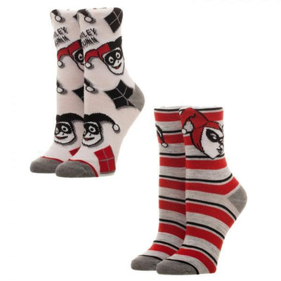 Harley Quinn Juniors Crew Sock 2 Pack - Dood Gear