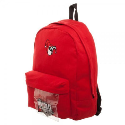 DC Comics Harley Quinn DIY Patch It Backpack - Dood Gear