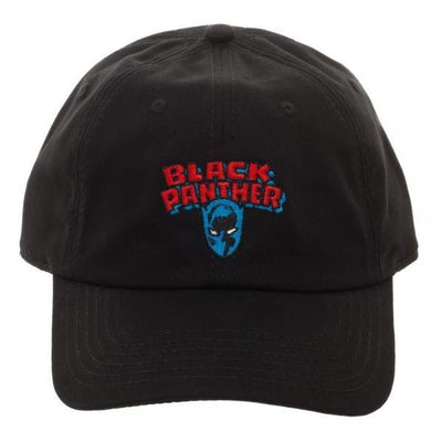 Black Panther Logo Embroidered Dad Hat - Dood Gear