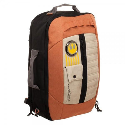 Resistance Pilot Inspired 3-in-1 Convertible Backpack - Dood Gear