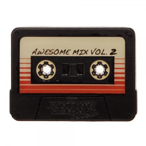 Guardians of the Galaxy Cassette Tape Lapel Pin - Dood Gear