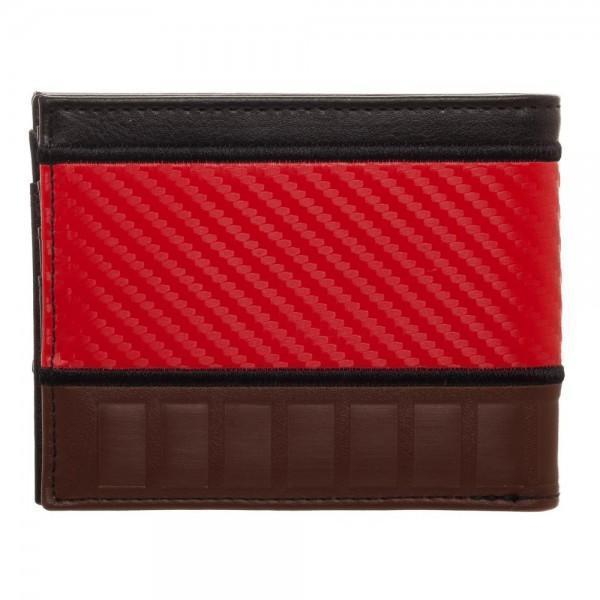 Deadpool Carbon Fiber Bi-Fold Wallet