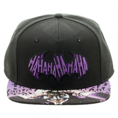 Batman Joker Sublimated Bill Snapback - Dood Gear