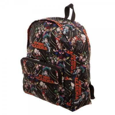 My Hero Academia Collage Print Packable Backpack - Dood Gear