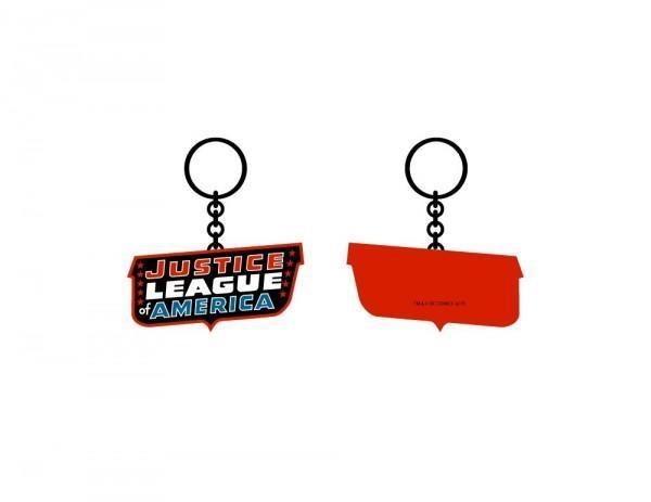 Justice League Classic Keychain - Dood Gear