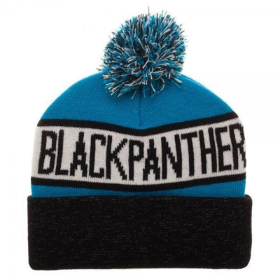 Black Panther Reflective Cuff Beanie - Dood Gear