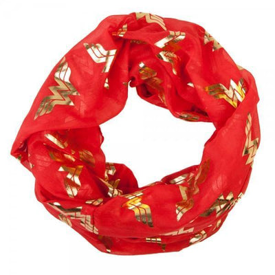DC Comics Wonder Woman Foil Viscose Scarf - Dood Gear