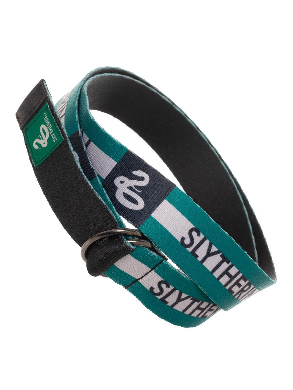 Harry Potter - Slytherin D Ring Web Belt **NEW**