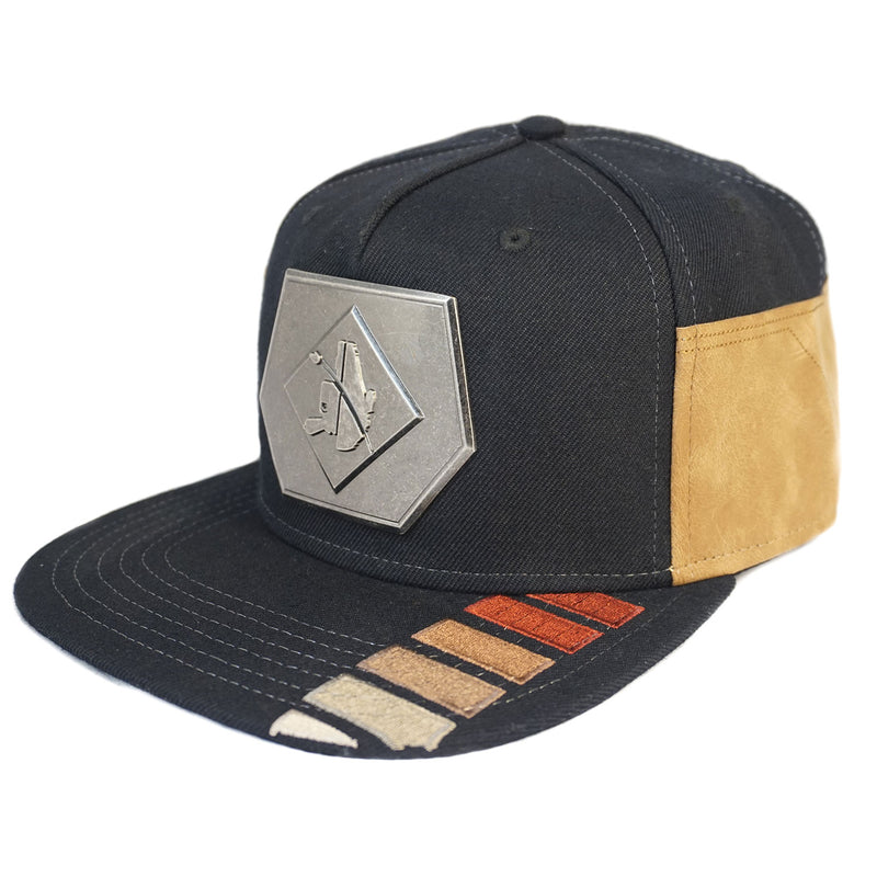 Star Wars Snapback Hat with Metal Millennium Falcon Emblem