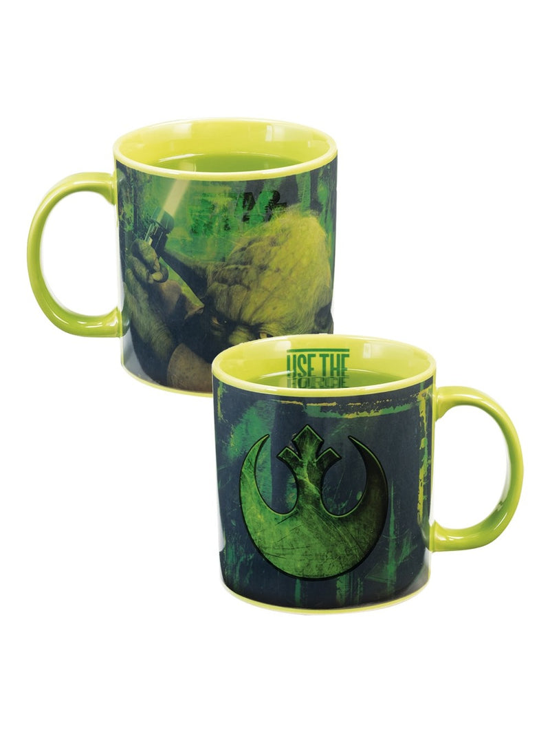 Star Wars Yoda 20oz. Heat Reactive Mug