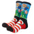 Super Mario Sublimated Men's Crew Socks **NEW**
