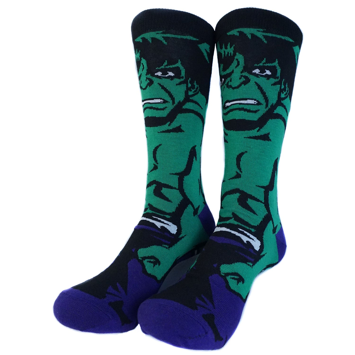 Marvel - Hulk 360 Character Collection Mens Crew Socks