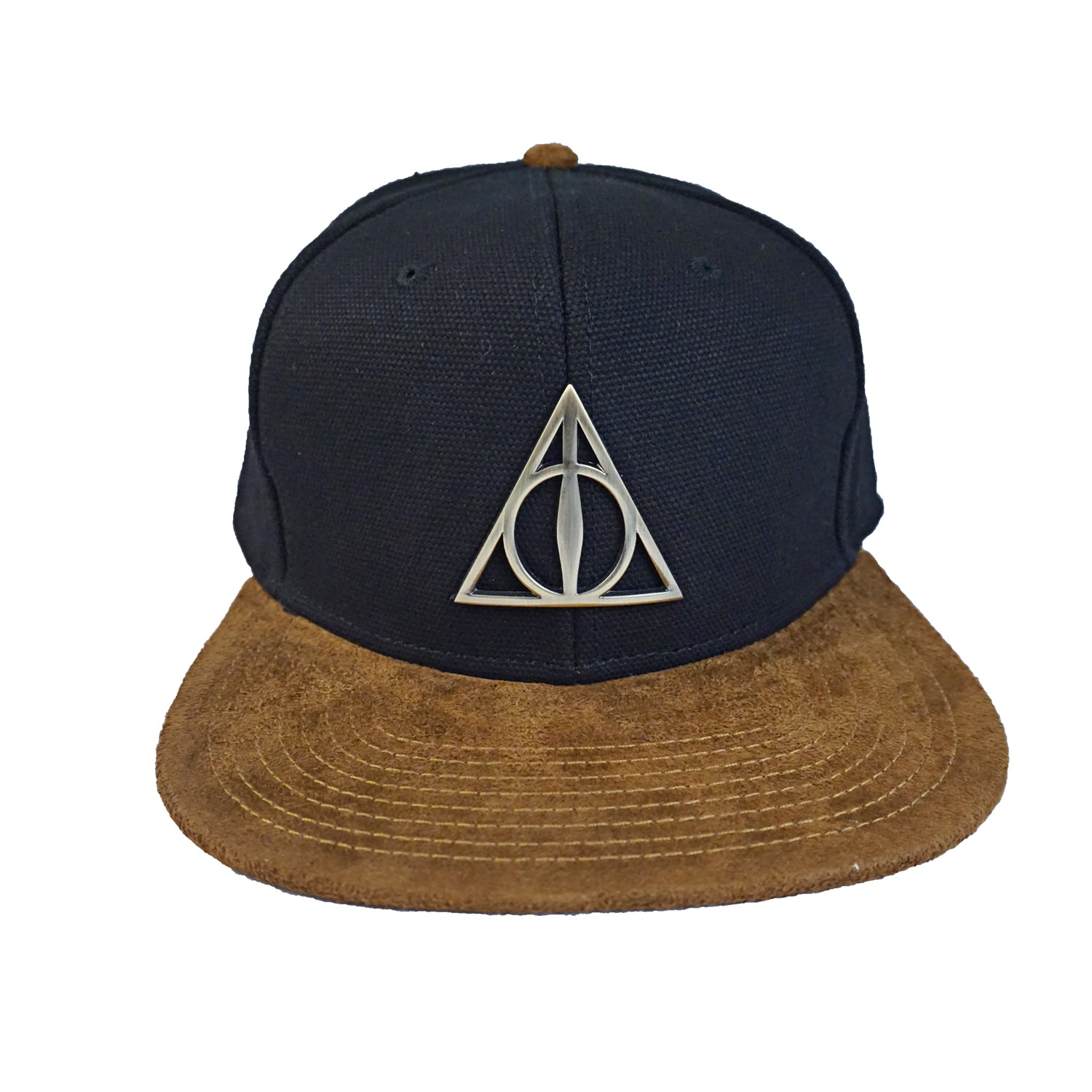 Harry Potter - Deathly Hollows Symbol Brown Suede Bill
