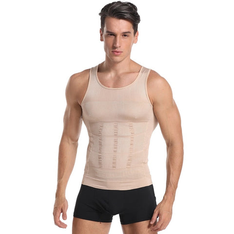 Slimming Belly Control Posture Correcting Compression Shirt