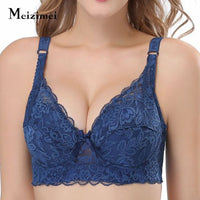 Wireless Lace Full Cup Bra