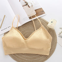 Sporty Invisible Push Up Bra Seamless Wireless Bra