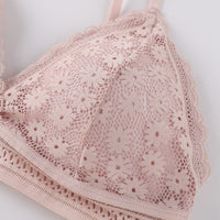 Wire Free Back Closed Padded Bra