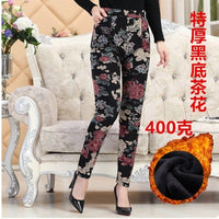 Warm Designer Print Pants