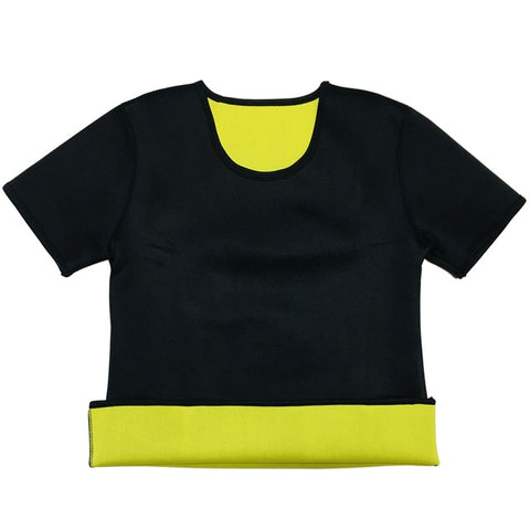Neoprene Fat Burning Short-Sleeve Shirt