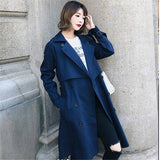 Double Breasted Stylish Trench Coat