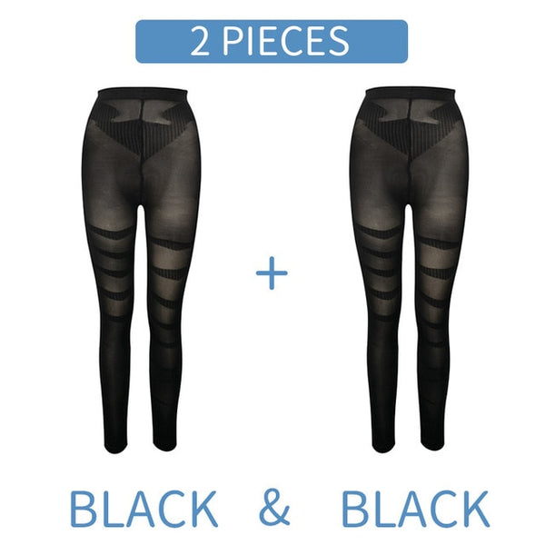 Shapewear Anti Cellulite Compression Leggings Leg Slimming Body Shaper High Waist Tummy Control Panties Thigh Sculpting Slimmer