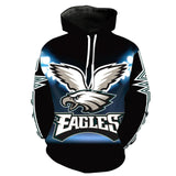 American Football Team 3D Printed Hoodies