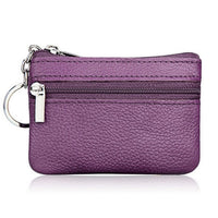 Fashion Leather Women Wallet Clutch One/Two Zip Female Short Small Coin Purse Brand New Design Soft Mini Card Cash Holder