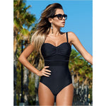 One Piece Push Up Padded Swimsuit