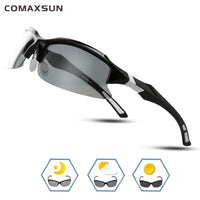 COMAXSUN Professional Polarized Cycling Glasses Bike Bicycle Goggles Driving Fishing Outdoor Sports Sunglasses UV 400 Tr90