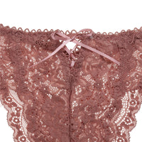 Sexy Lace Low Waist Thongs