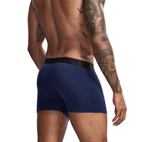 Cotton Front Pocketed Boxers