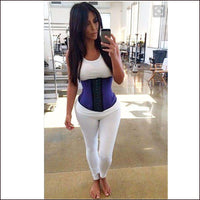 9 Steel Boned 100% Latex Waist Trainer