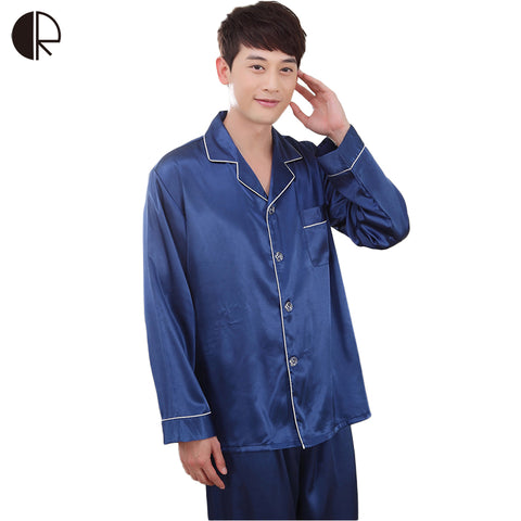 Men's Long-Sleeve Pajama Set