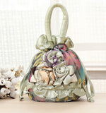 Women's Floral Designed Tote