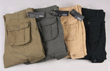 Mwxsd Men's Multi-Pocket Cargo Pants